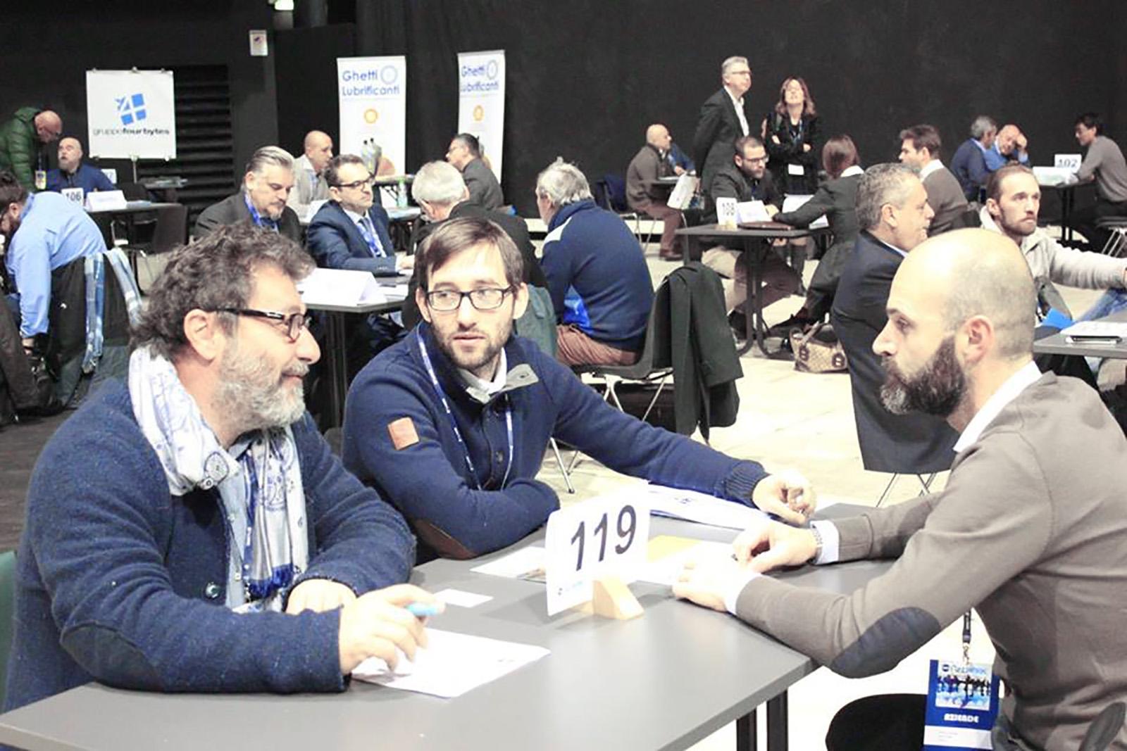 Bordoni Bonfiglio al CNA BTOB Bologna 2017